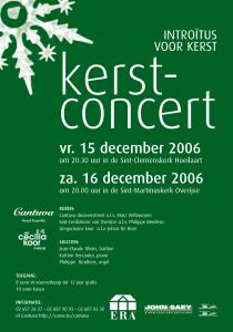 Cantuva Kerstconcert 2006