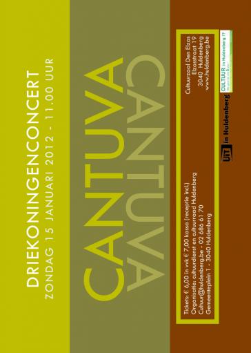 Cantuva Driekoningenconcert Davidsfonds