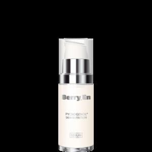 En 15 ml anti aging serum fra Berry En. Genopbygger din ansigtshud indefra, minimerer de fine linjer, rynker og slap hud.
