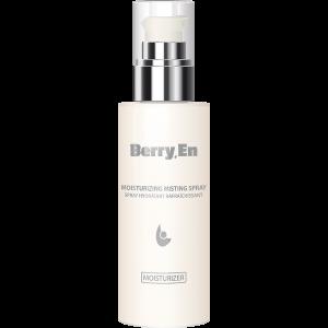 Viser en 125 ml moisturizer fra Berry En med dispenser, der giver fugt til huden og fjerner urenheder.