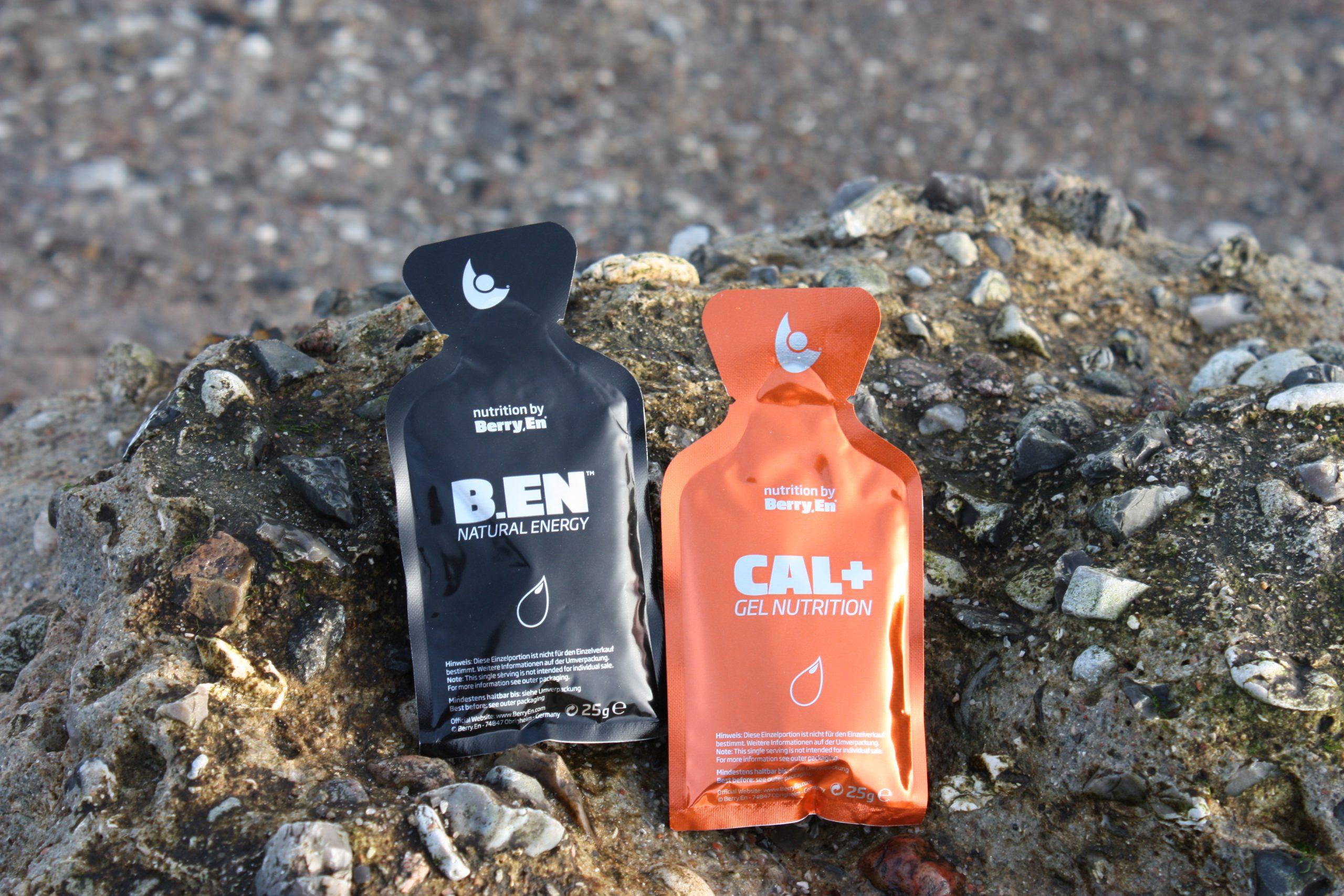 B.en sportsgel fra Berry en, bidrager til øget energi og Cal+ indeholder calcium og magnesium og birager til færre kramper og mindre uro