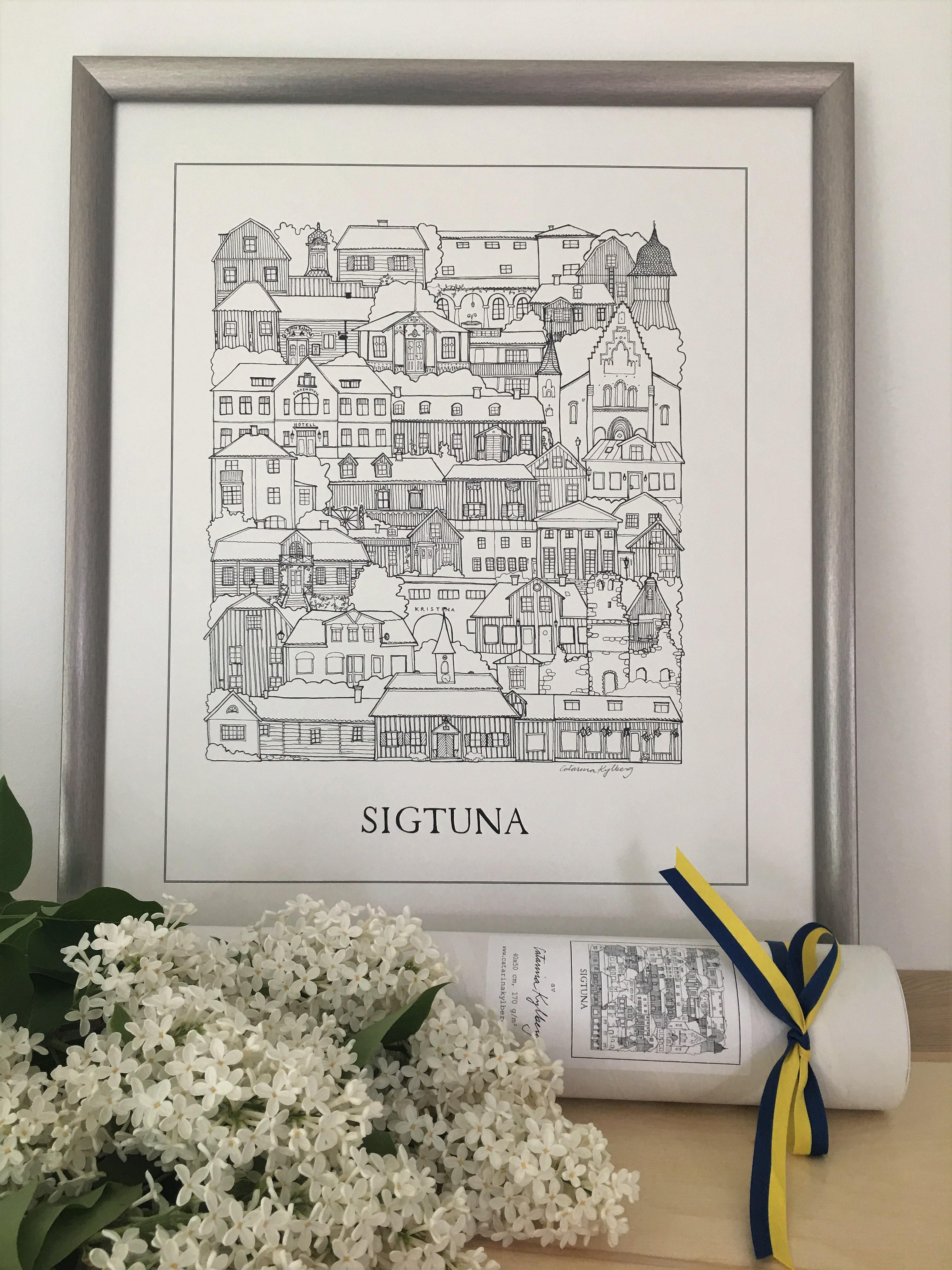 Poster över Sigtuna