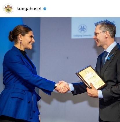 Årets børnediabetes-forsker pris gives til Cellaviva forsker af den svenske Kronprinsesse