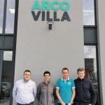 Les membres d'Arco Villa et Os'mose