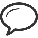 graphic of a speech bubble