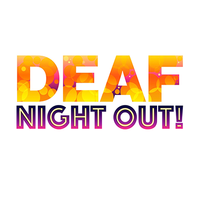 Logo for Deaf Night Out