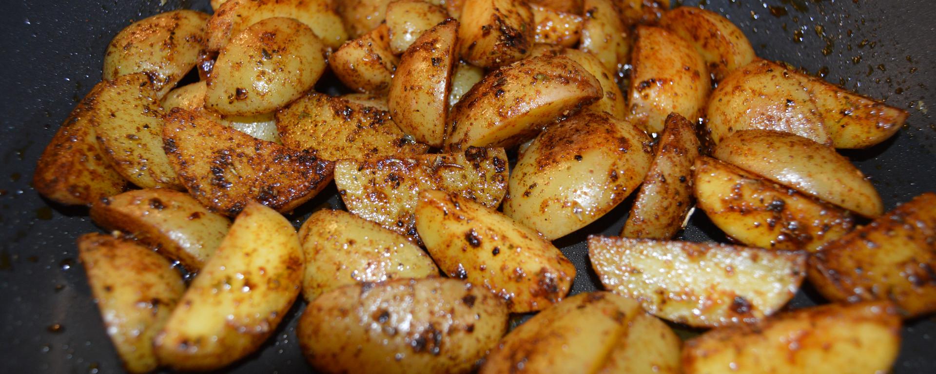 ChefNorway's spicy potatoes