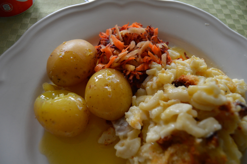 Fishy Mac And Cheese