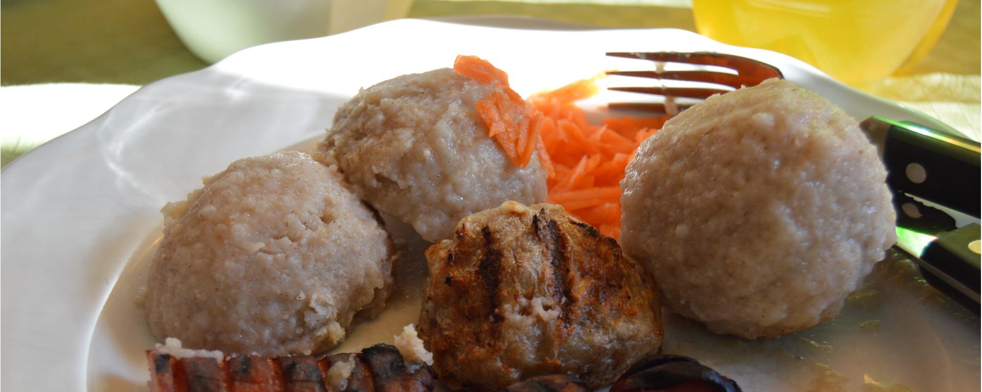 """West Norwegian Potato Ball """"Komle/Raspeball"""" (Gluten Free)"""