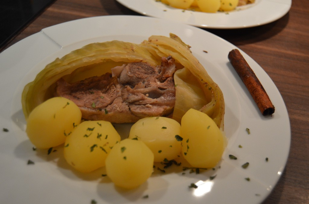 Lamb & Cabbage