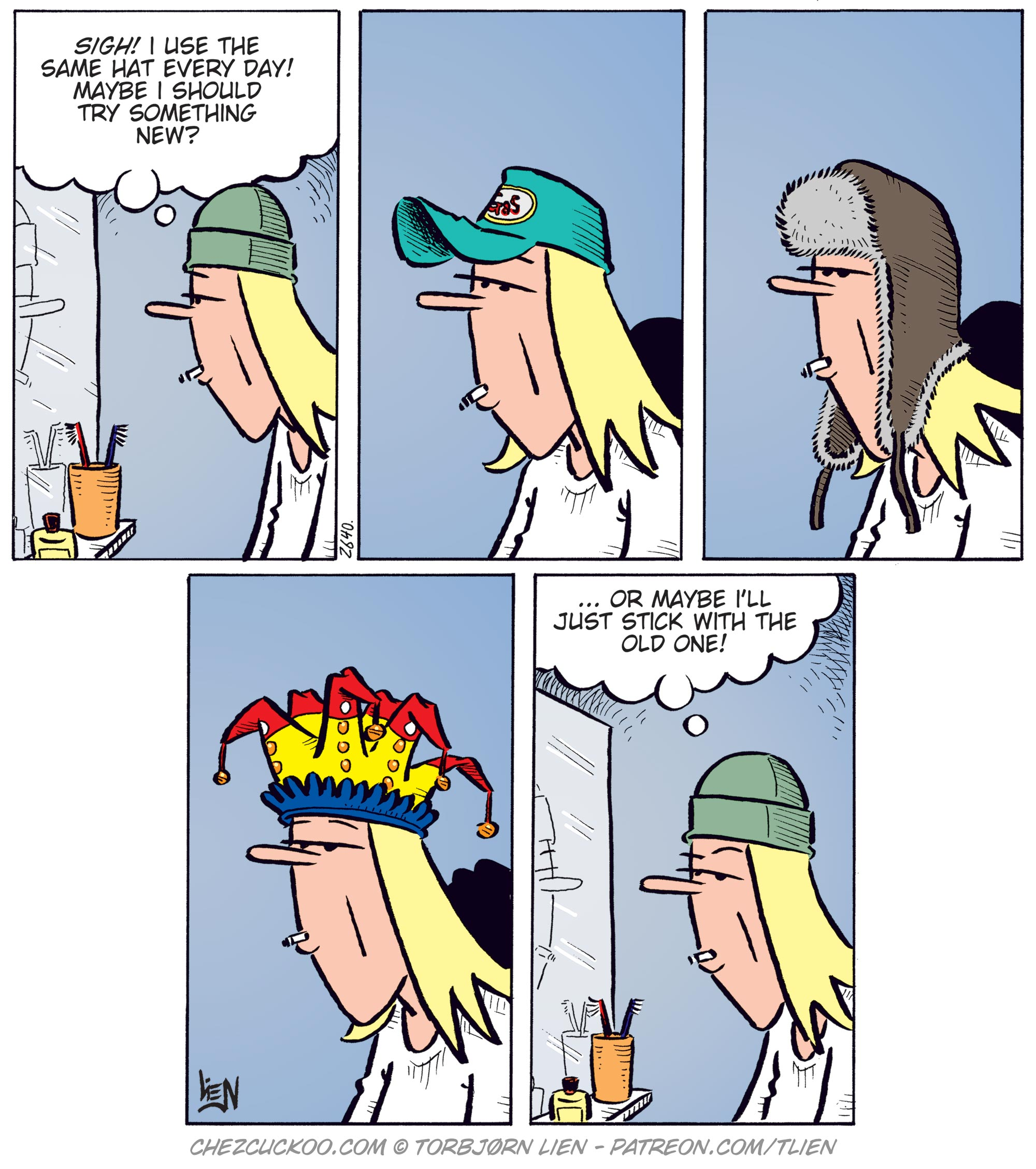 New hat?