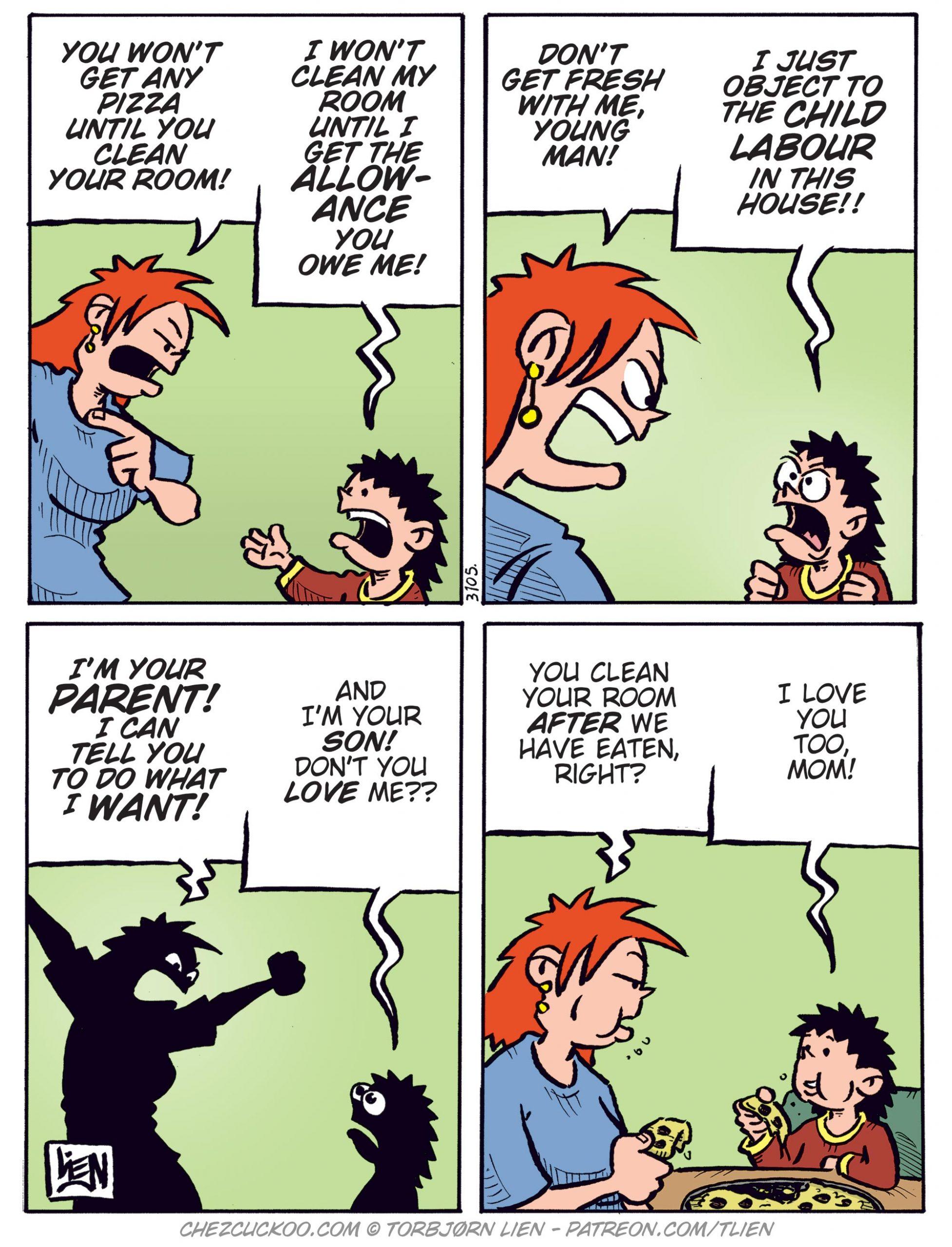 Parenting trouble