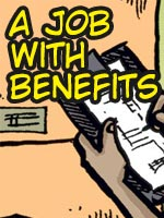 Read the story A Job With Benefits