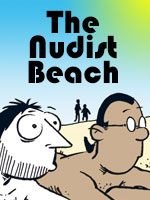 Read the story The nudist beach