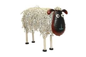 Metal Tall Sheep PQ1626