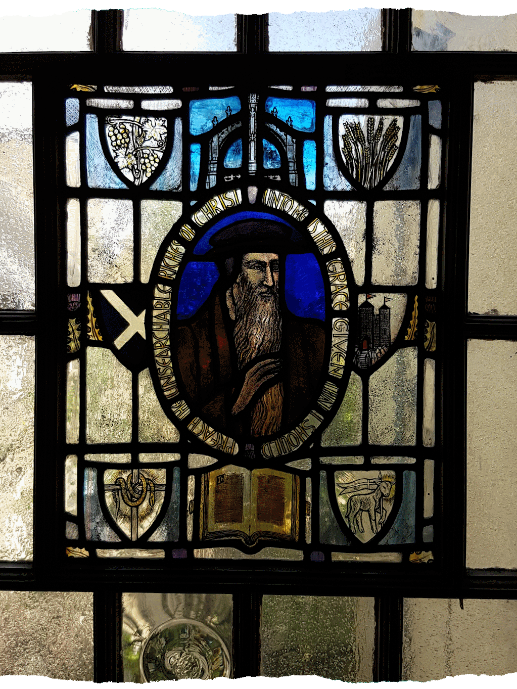 John Knox House – Stained Glass Window