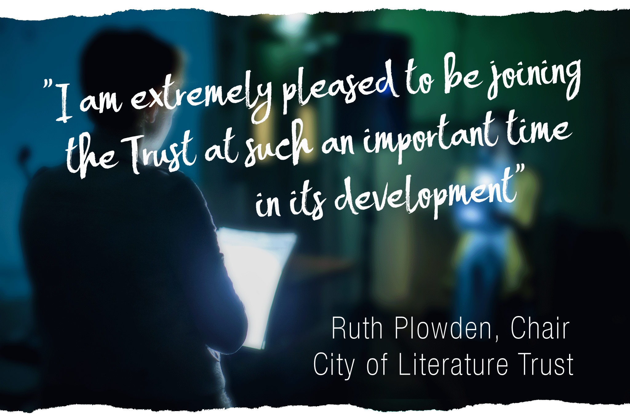 Ruth Plowden Quote - Edged