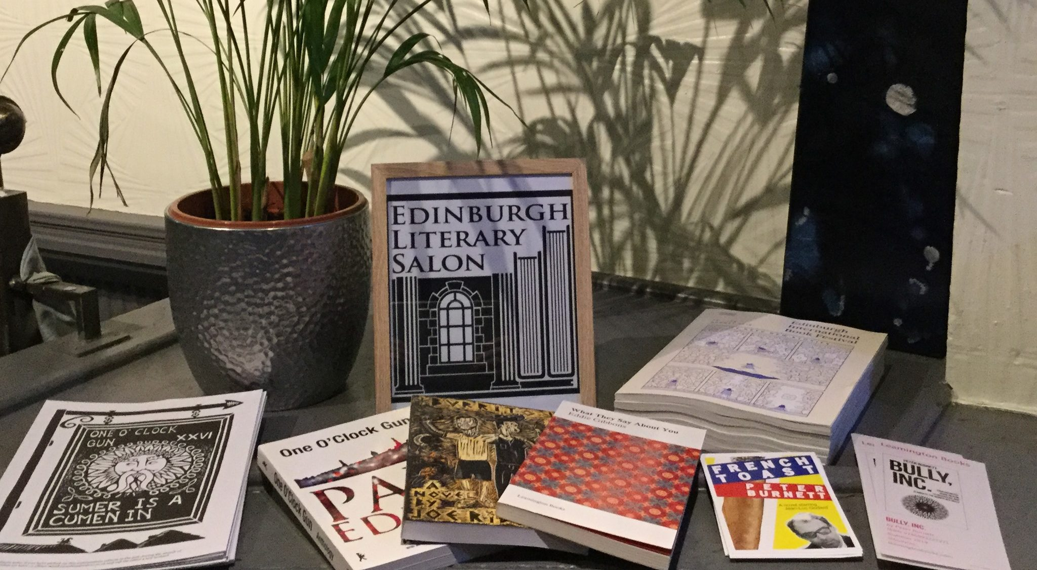 Edinburgh Literary Salon Anthology open for submission