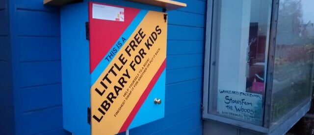 Little Free Libraries in Wester Ha
