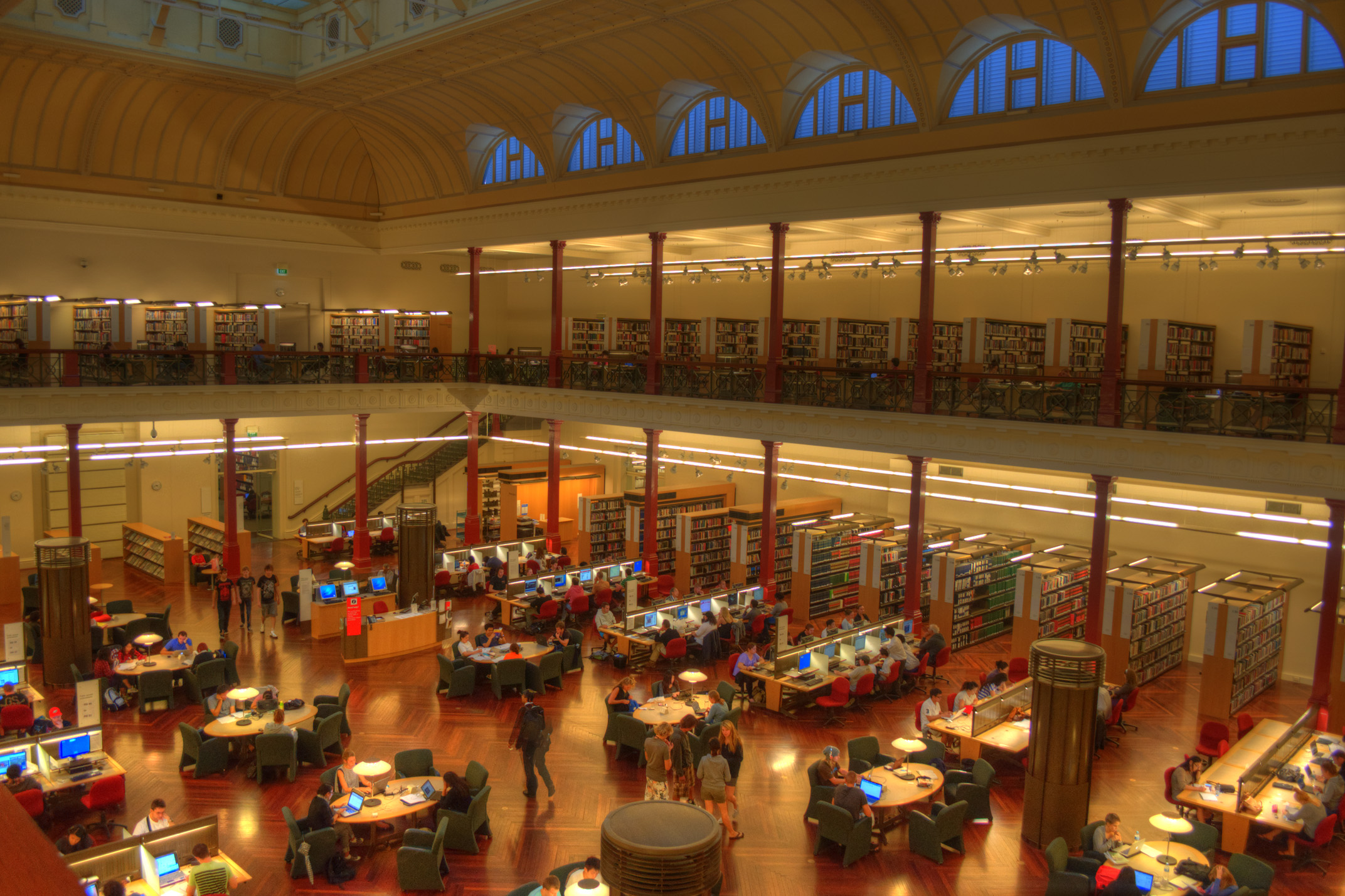 Interior of the State Library of Victoria ((CC Licence)