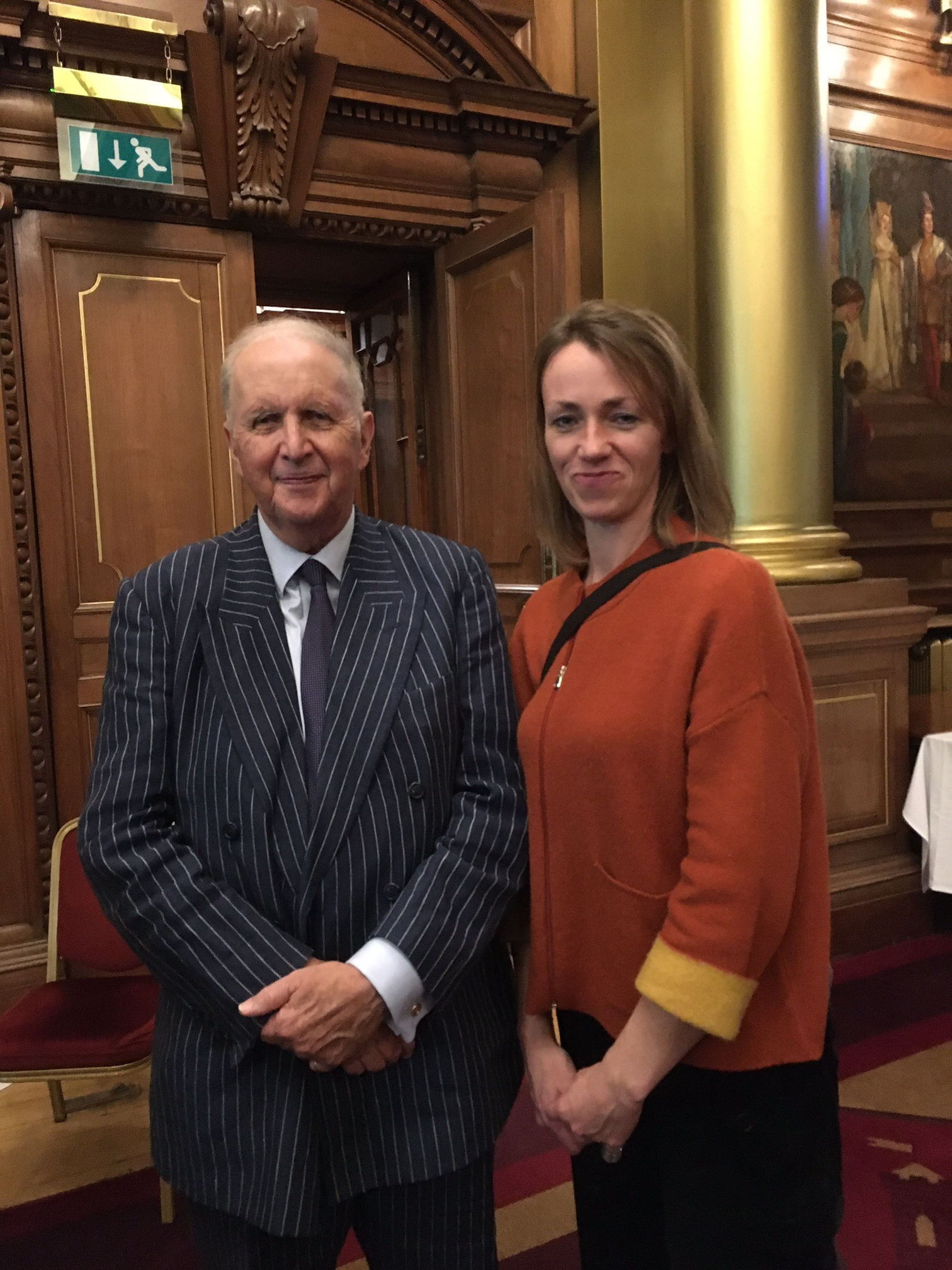 Alexander McCall Smith and Ali Bowden