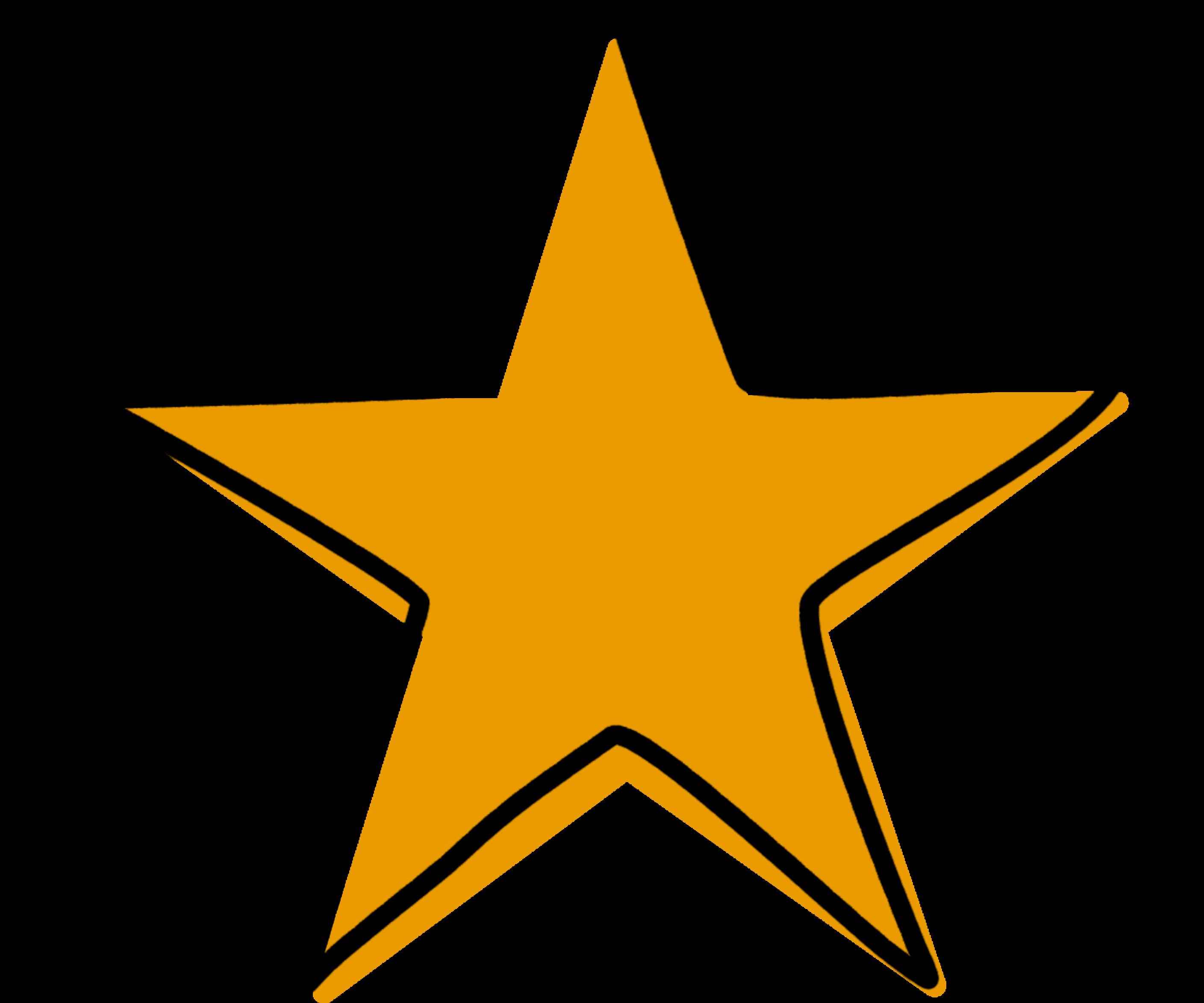 """Tekening van een ster als symbool voor """"talenten in kaart brengen"""""""