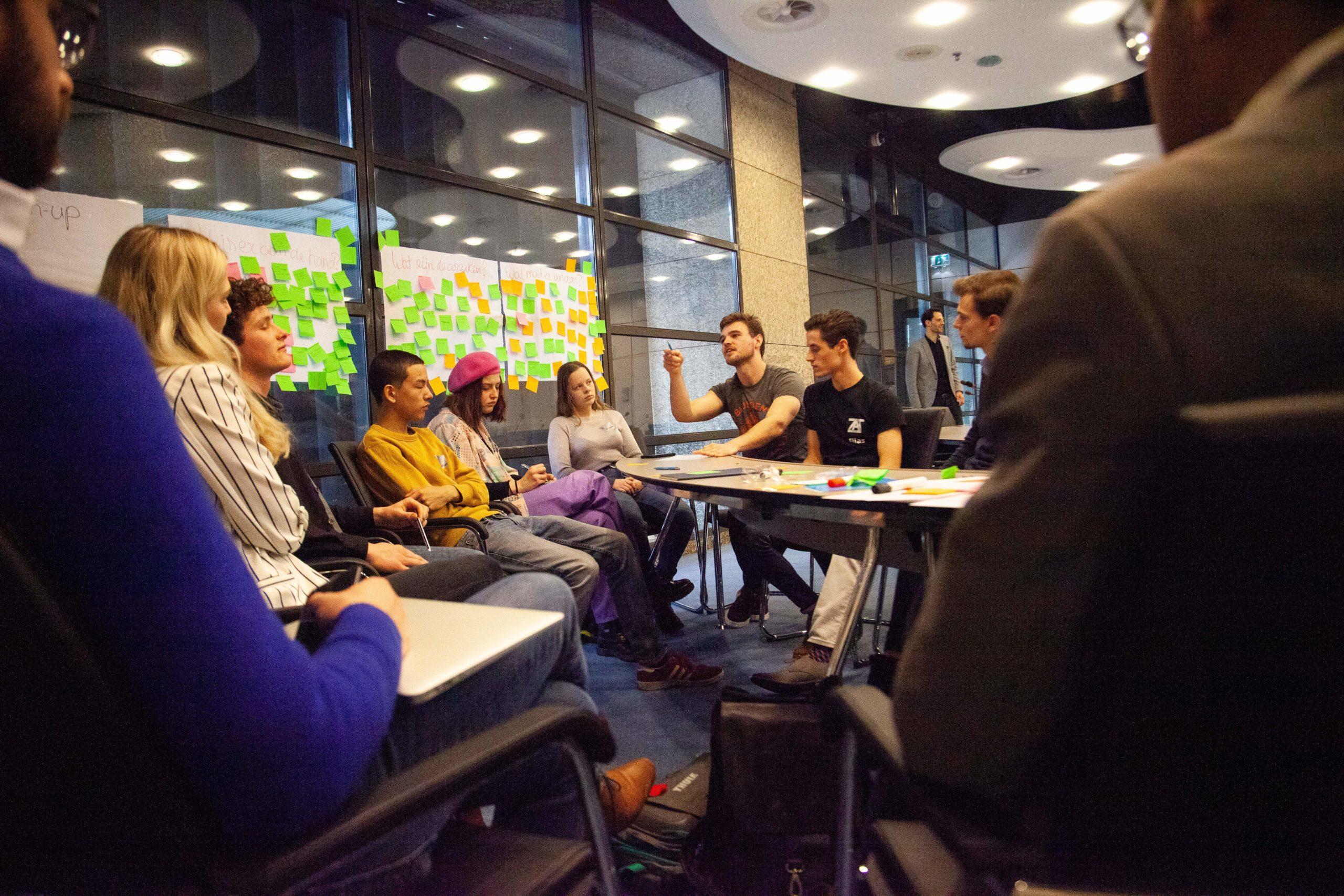 Coalitie-Y eist een plek aan tafel rondom regeringsbeleid voor jongeren