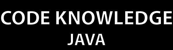 Logo Code-Knowledge Java