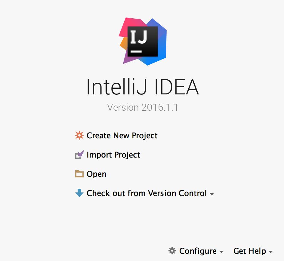 IntelliJ Java New project
