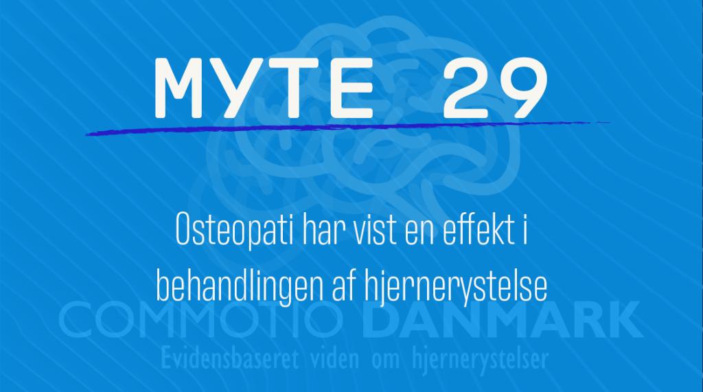 Myte 29 - Osteopati