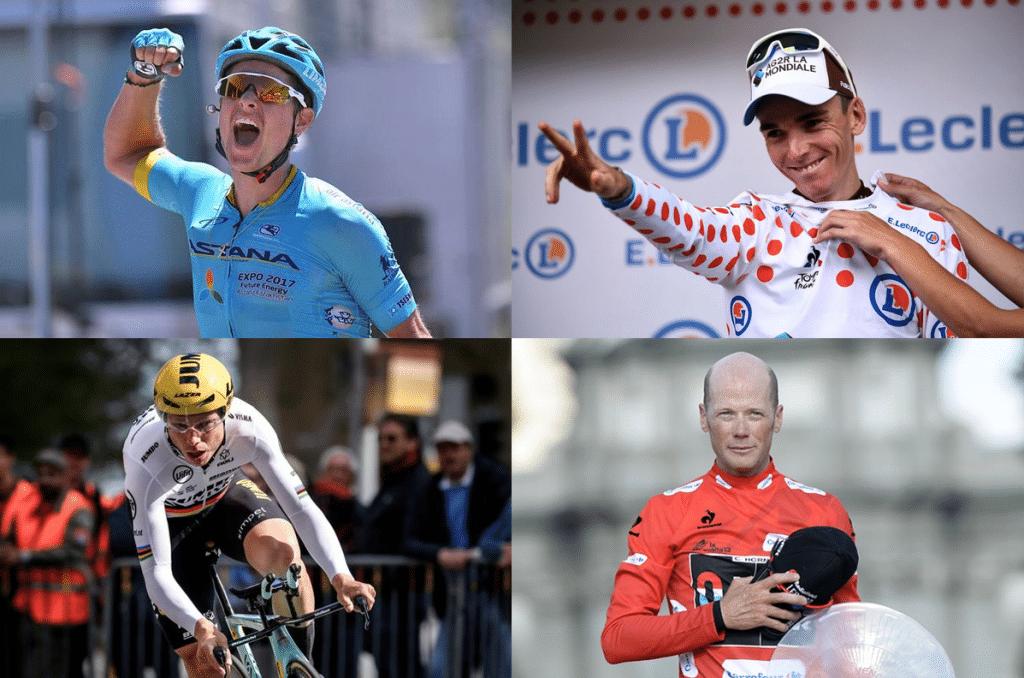 Hjernerystelse og cykling: Jakob Fuglsang, Romain Bardet, Tony Martin, Chris Horner.