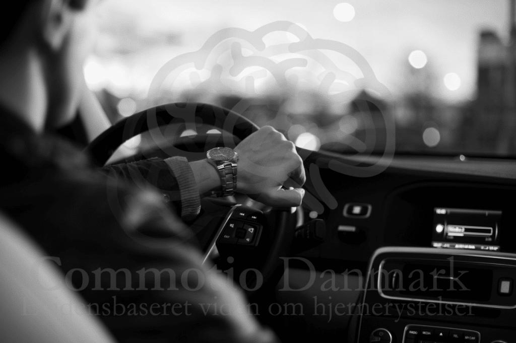 Bilkørsel efter hjernerystelse