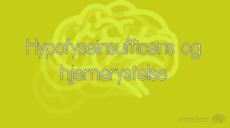 Hypofyse-insufficiens