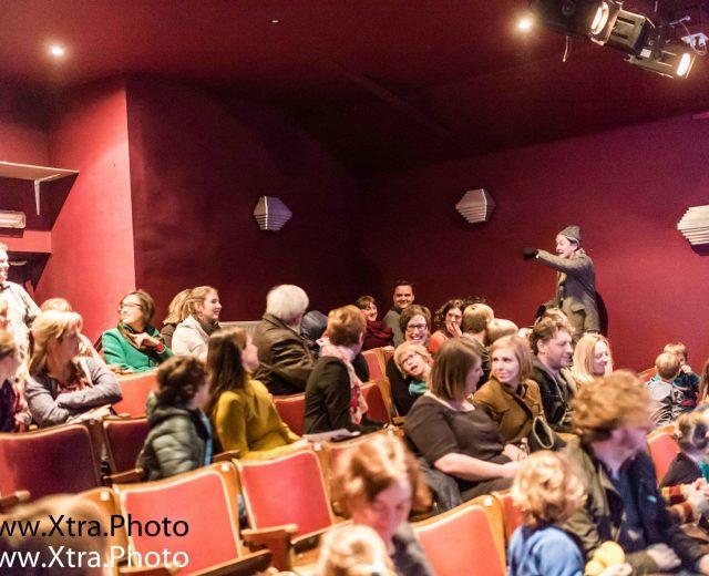 De meespeelsprookjes is theater voor kinderen vanaf 4 jaar.