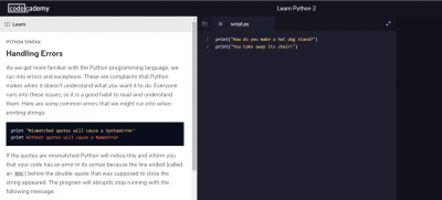 Ultimate Guide to Free Python Resources for Beginners = Codecademy