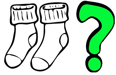 Computational thinking - a puzzle about socks