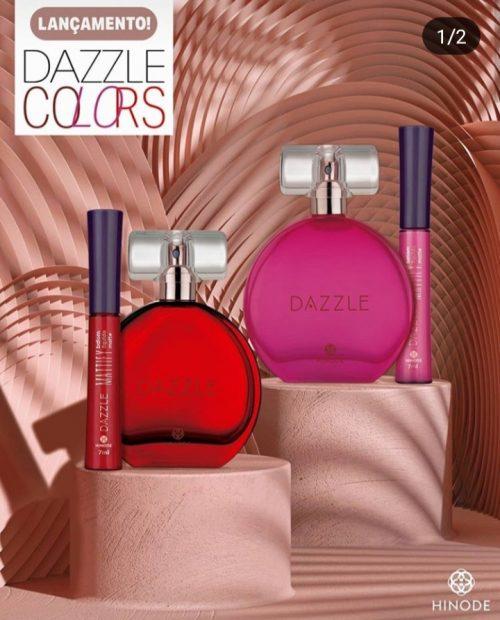 Lancamento Hinode DAZZLE COLORS perfume + batom