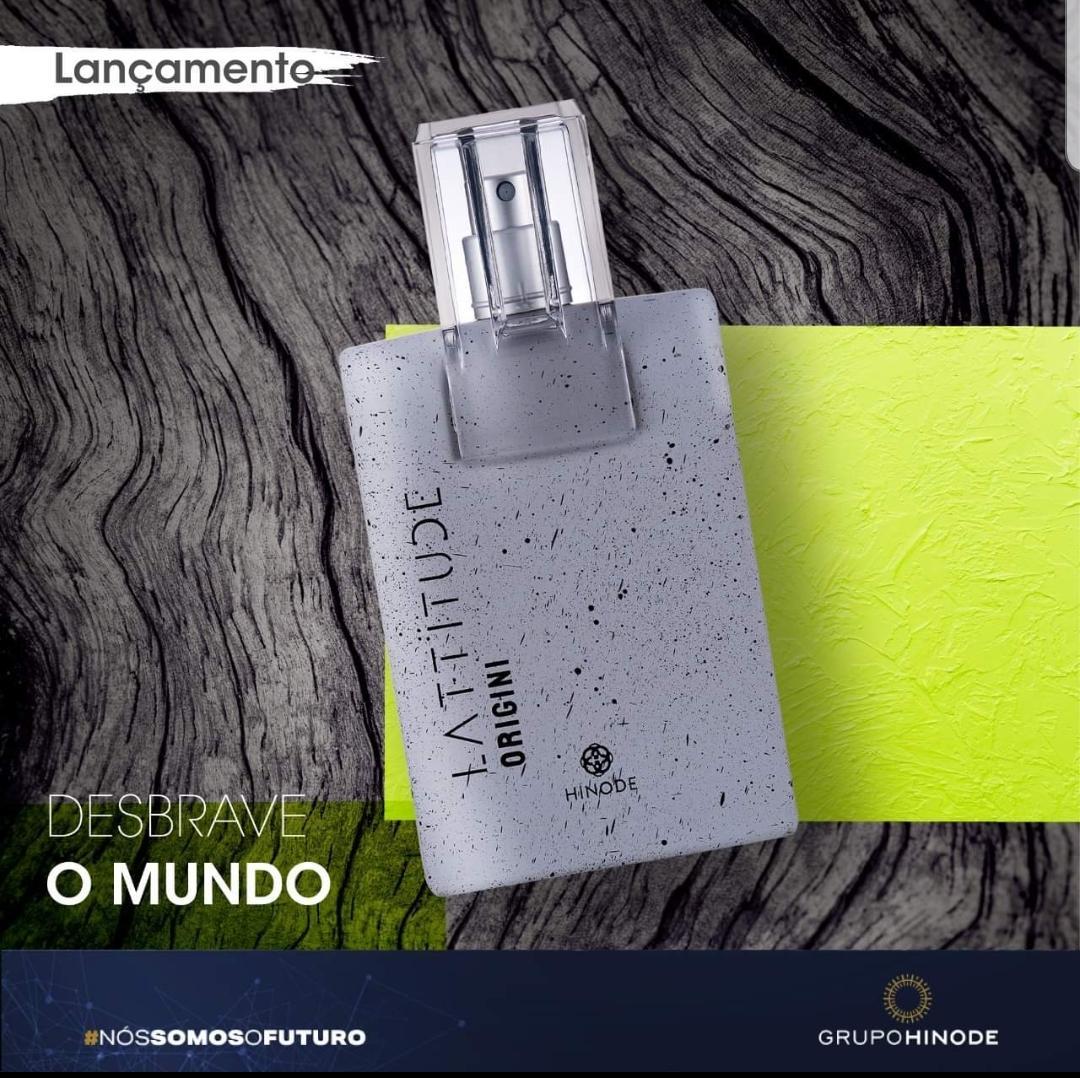 Lattitude Origini. Novo perfume masculino da linha lattitude.