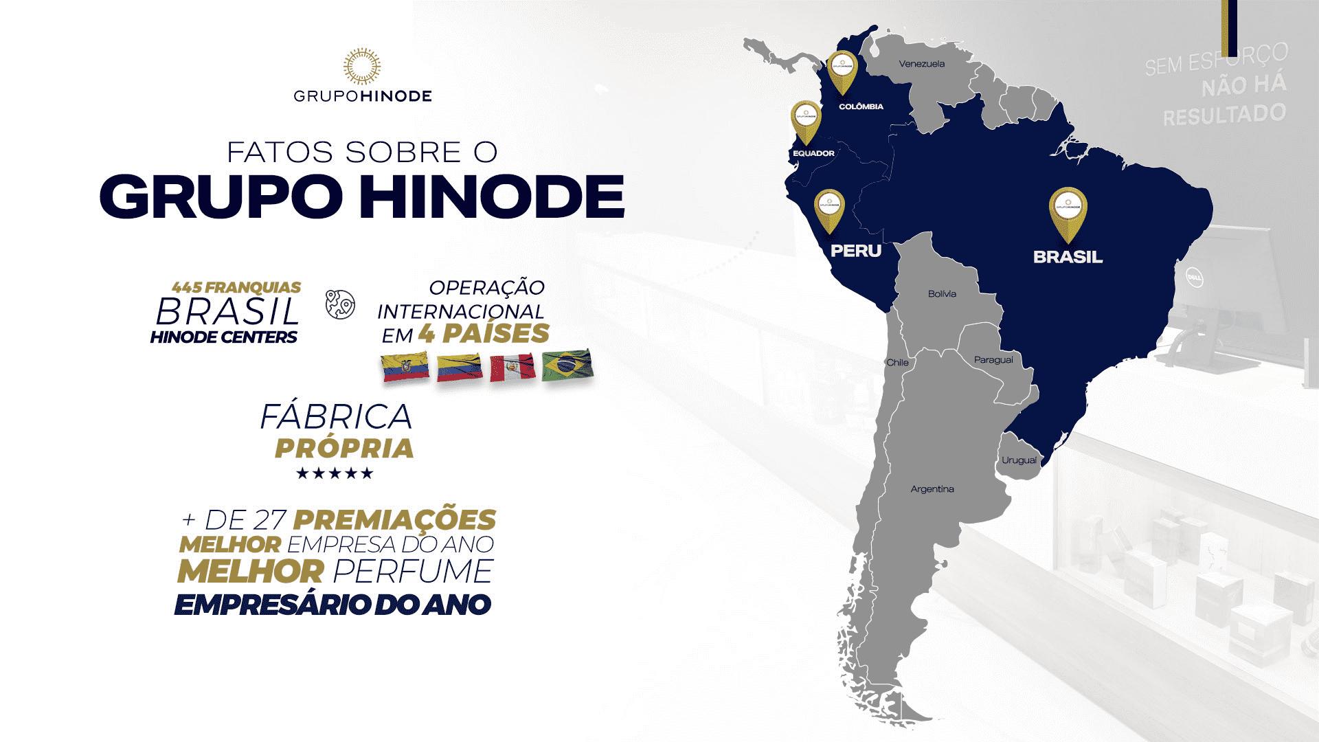 países atuantes Hinode no México