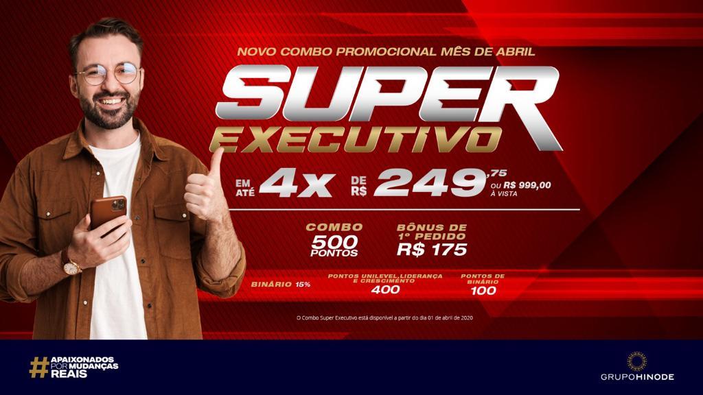 Novo super combo executivo Hinode