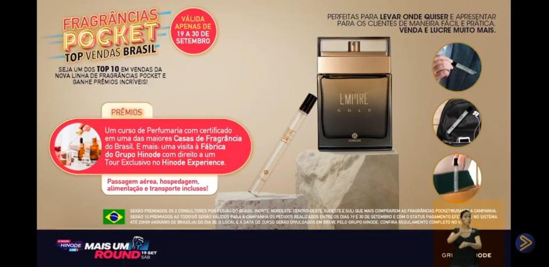 Perfume Pocket Hinode