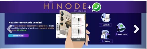 Catálogo Interativo Hinode virtual
