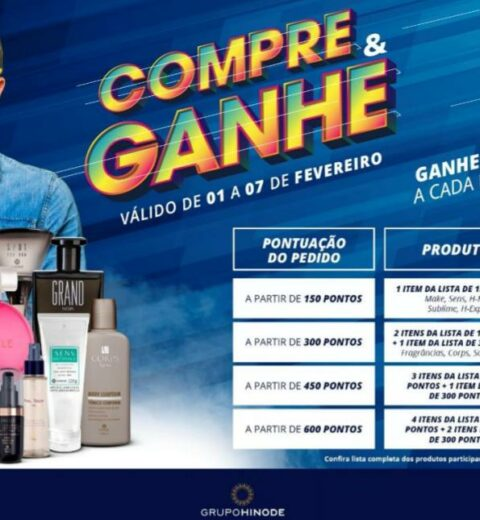 Compre e Ganhe Hinode 2021