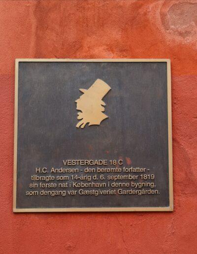 Vestergade 18c H.C. Andersen