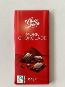 Anbefalet mørk chokolade