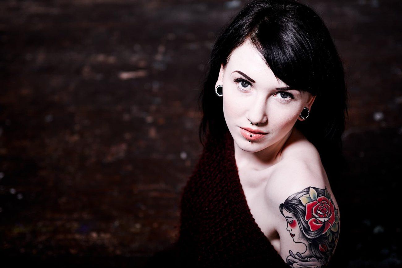 Portræt tatovering