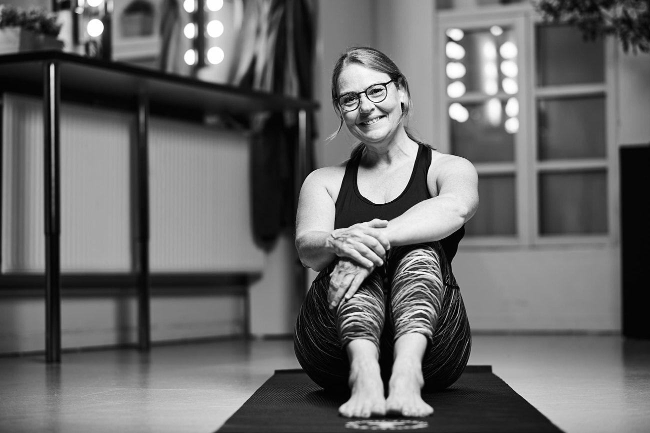 Portrætfoto - yoga