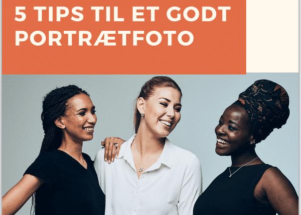 5 Tips til et godt portrætfoto - forside