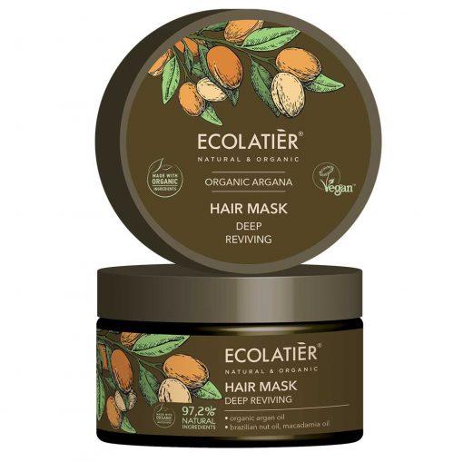 Ekologisk hårinpackning med arganolja