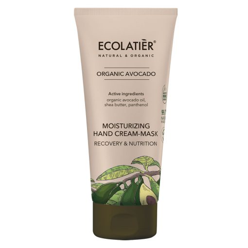 Ecolatier ekologisk handkräm-mask med avokadoolja